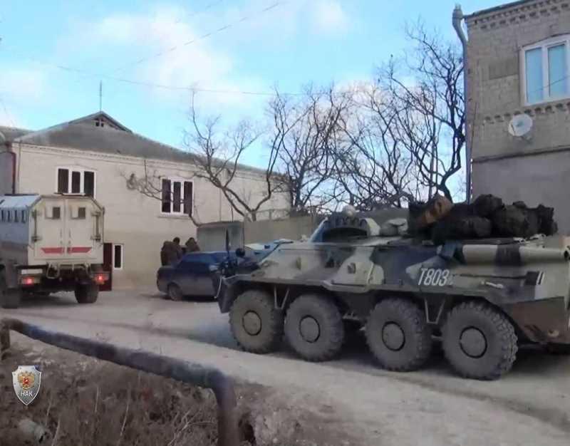 Официальная информация НАК о КТО в Дагестане (оперативное видео)