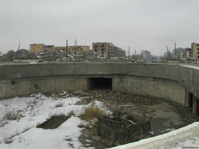 Грозный после войны. Фото