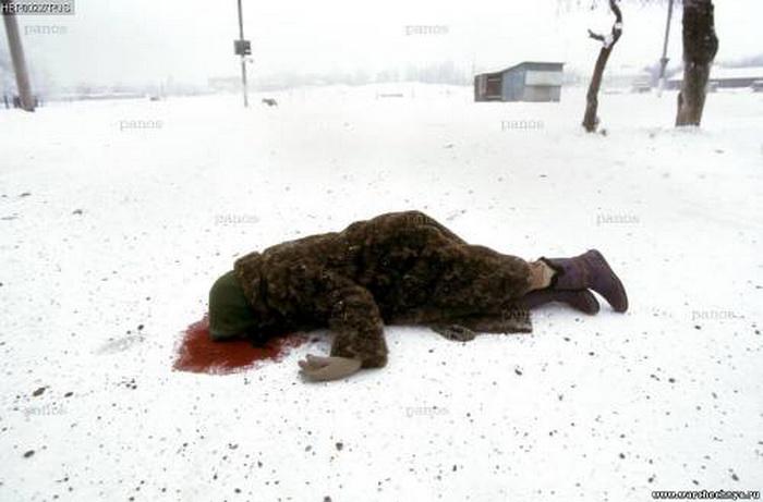 Фото с чеченской стороны