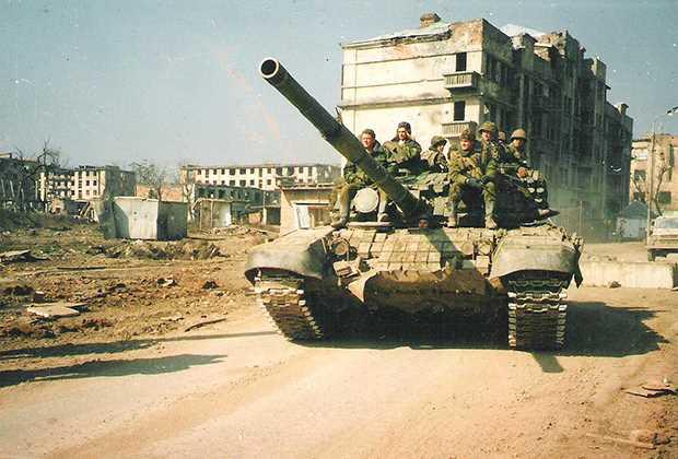 Грозный в первую чеченскую Фото: Игорь Ротарь