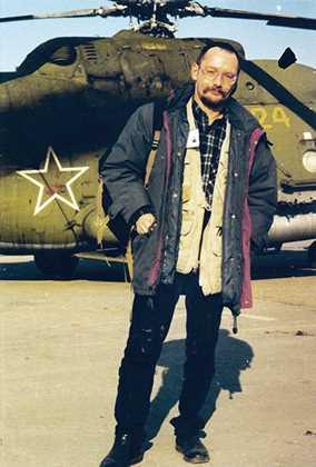 Автор на первой чеченской Фото: Игорь Ротарь