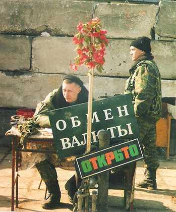 Блок-пост в Грозном Фото: Игорь Ротарь