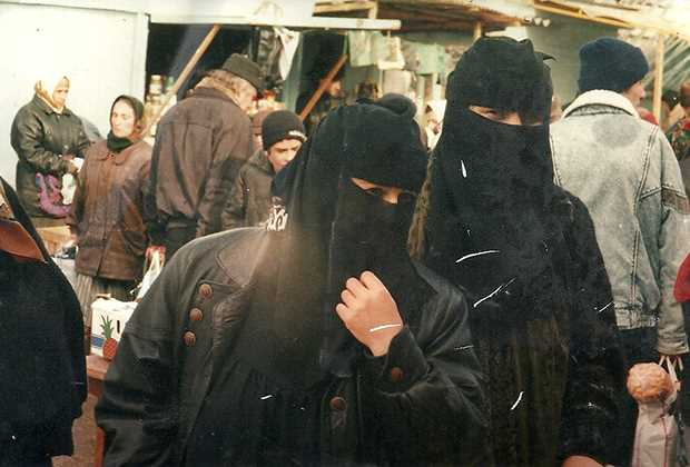 Чеченские «ваххабитки» Фото: Игорь Ротарь