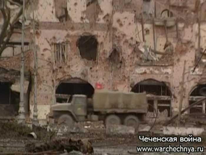 Первая чеченская война глазами финнов. 1995 год.