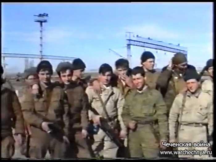 Первая чеченская война. 1995 год. 81 МСП