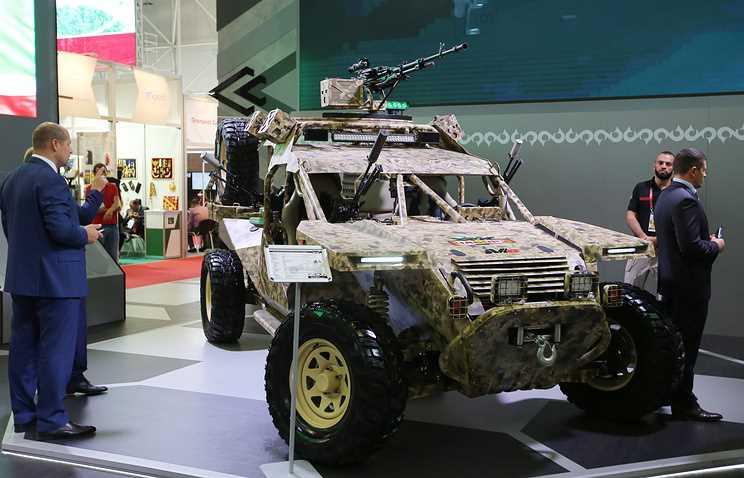 """В Грозном представили новую боевую машину спецназа """"Чаборз-6"""""""