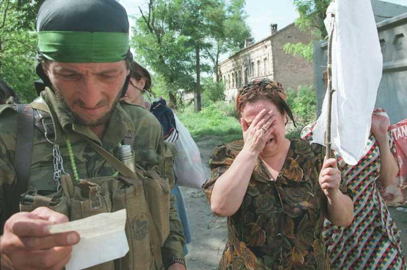 Чеченский плен - голод и пытки