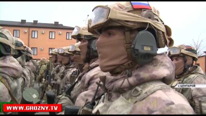 Рамзан Кадыров посетил учебно-тренировочный центр СОБР «Терек»