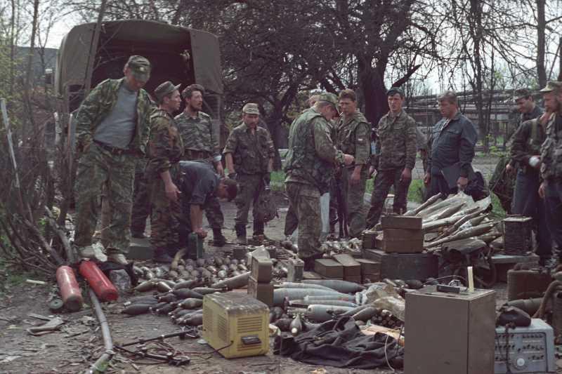 Вторая чеченская война. Чеченский дневник подполковника Лазарева