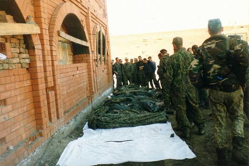 Вторая чеченская война. Нападение на колонну Пермского ОМОНа