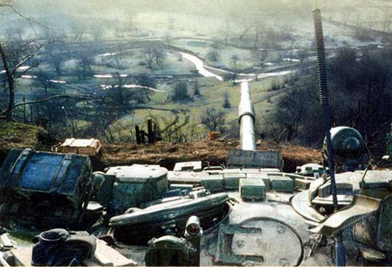Вторая чеченская война. Штурм Гудермеса