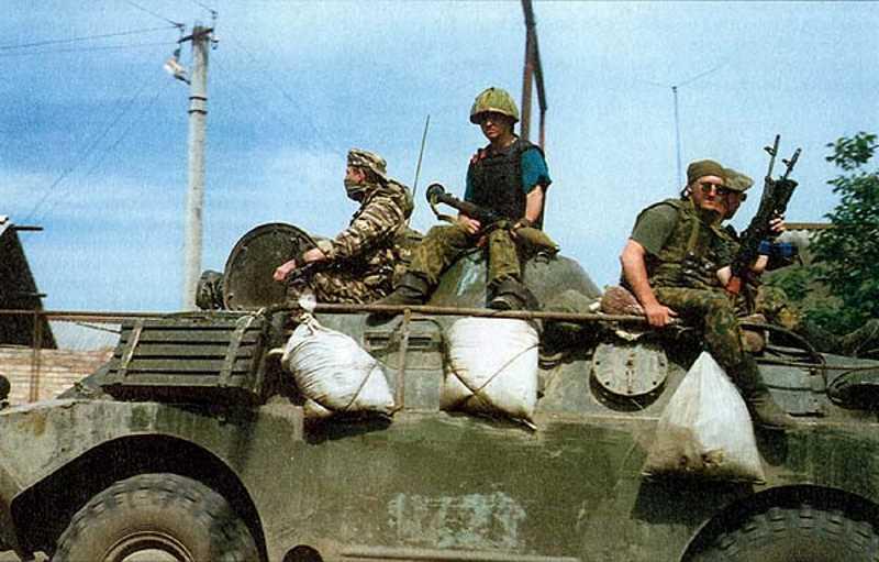 Первая чеченская война. Один из этапов спецоперации по освобождению Гудермеса