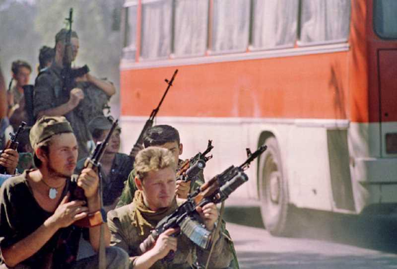 Первая чеченская война. Теракт в Будённовске