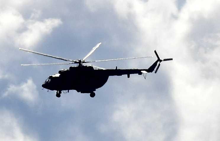 В Чечне потерпел крушение вертолет погранслужбы