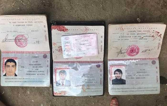 Стали известны пять имен убитых боевиков в Дербенте