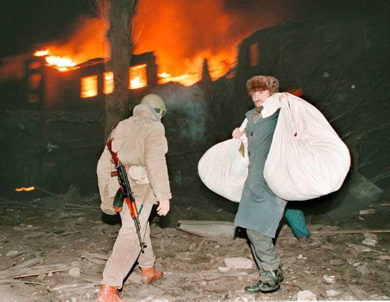 Первая чеченская война. Часть 2. Morituri: идущие на смерть