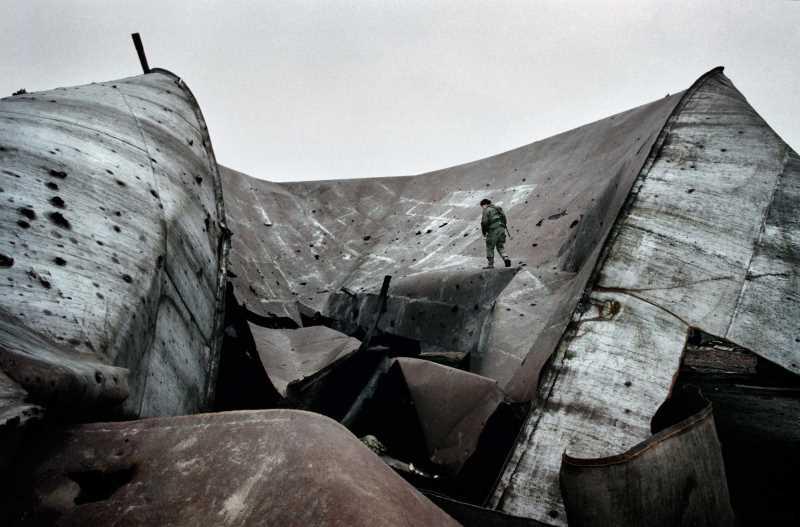 Руины завода. Конец 1999 г.