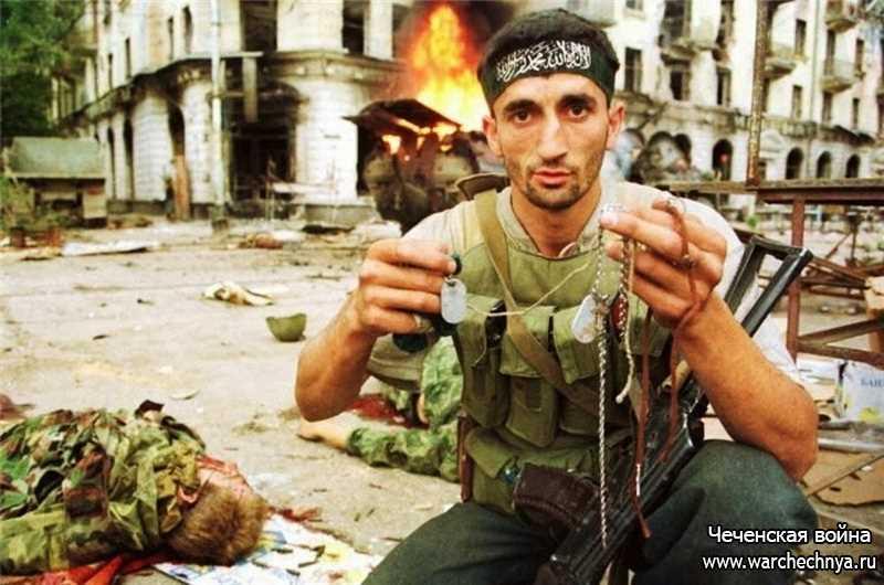 Первая чеченская война. В августе 96-го