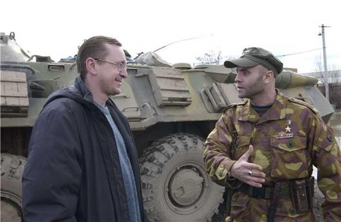 Саид-Магомед Какиев (справа), Командир батальона «Запад», Лояльного Федеральным властям