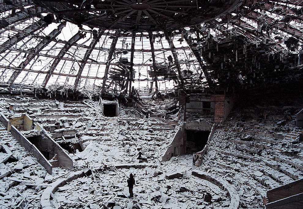 Вторая чеченская война глазами Дмитрия Белякова