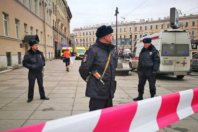 В СК России рассказали, как террорист взорвал петербургское метро
