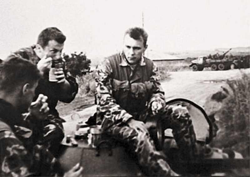 Вторая чеченская война. Гора Чабан