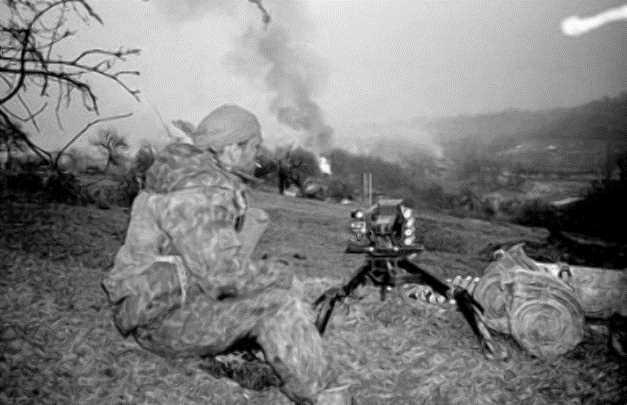 Вторая чеченская война. Бои за село Комсомольское