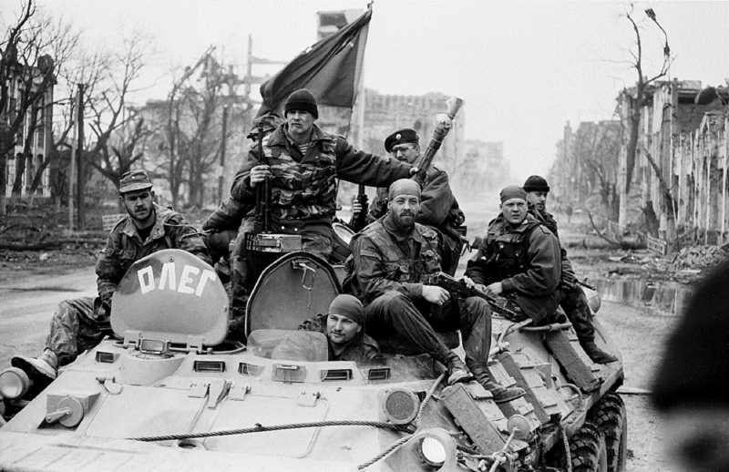 Сергей Герман. Первая чеченская война. 817... нас больше нет...