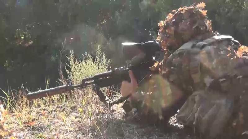 НАК опубликовал видео с места спецоперации в Дагестане