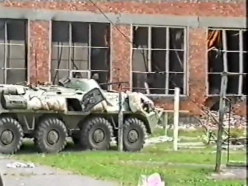 Вторая чеченская война. Штурм школы №1 в Беслане