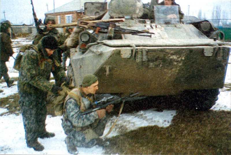 Первая чеченская война. Первомайский бой