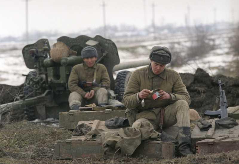 Первая чеченская война. Бой у Первомайского