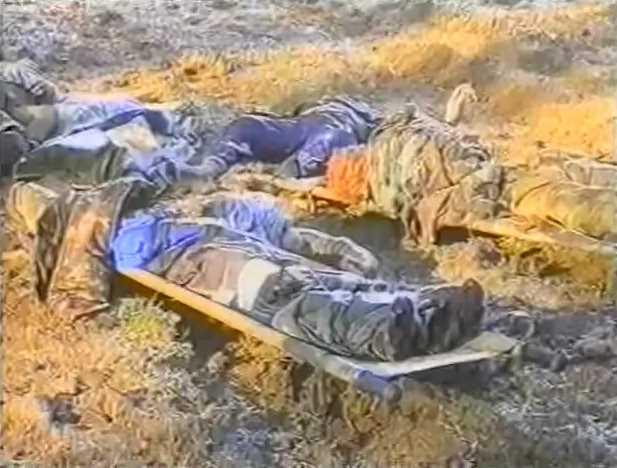 Вторая чеченская война. Алхан-Юрт