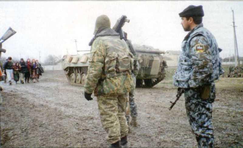 Первая чеченская война. Штурм Новогрозненского