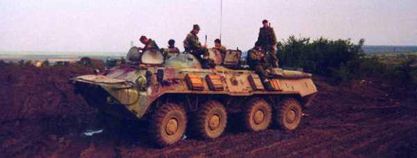 Вторая чеченская война. Кадарская зона