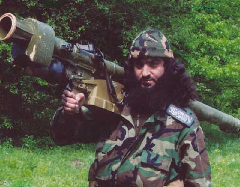 Чеченский полевой командир Абу аль-Валид