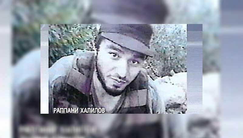 Чеченский полевой командир Раппани Абдуллаевич Халилов