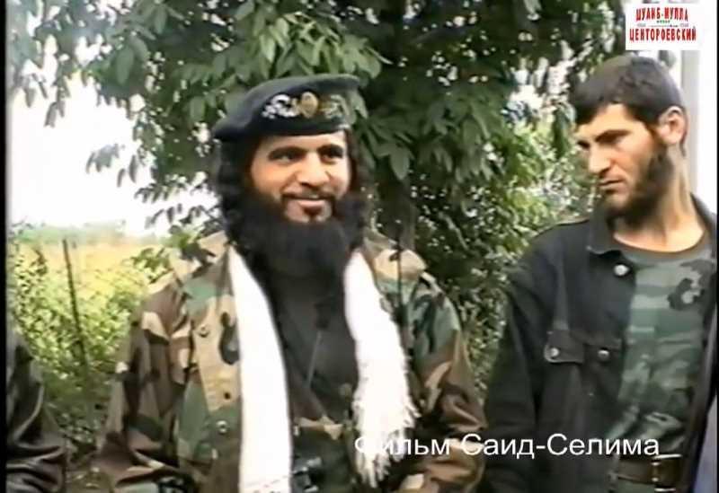 Первая чеченская война. Хаттаб и пленные русские солдаты