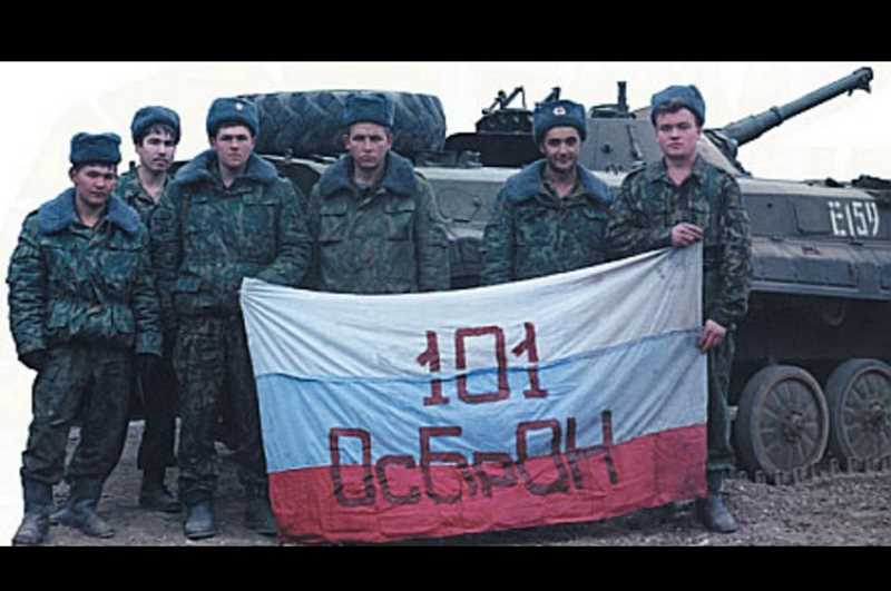 Первая чеченская война. 101 ОсБрОН. Август 1996-го