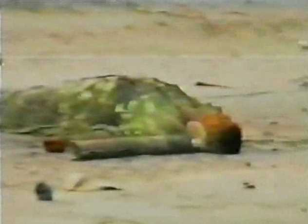 Погибший Олег Визнюк. Скриншот из видео