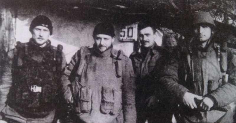 Офицеры 119-го полка ВДВ