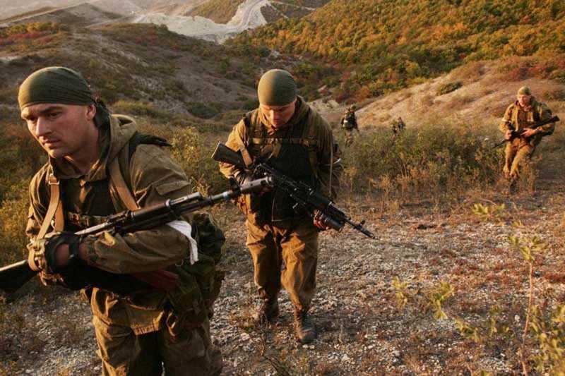 Вторая чеченская война. Работа спецназа