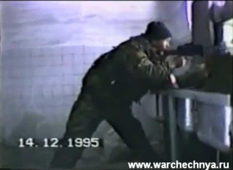 Первая чеченская война. 14 декабря 1995 - попытка прорыва боевиков в Гудермес