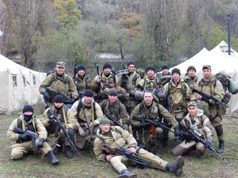 Краснодарский ОМОН в Чечне