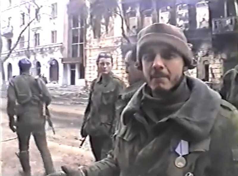 Первая чеченская война. 876 ОДШБ морской пехоты в Грозном