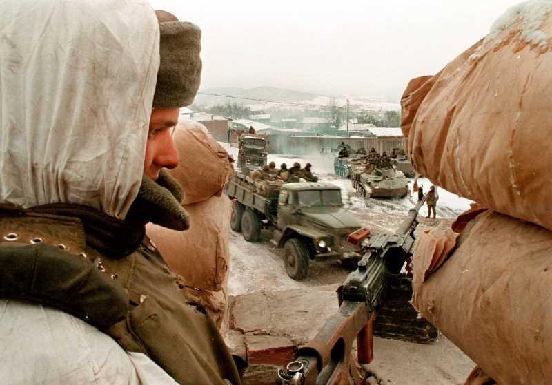 Первая чеченская война. 12-14 декабря 1995 - захват блокпоста у Шатоя