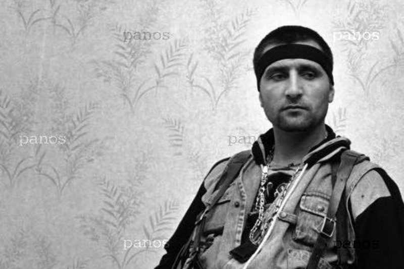 Чеченский полевой командир Лабазанов Руслан Хамидович