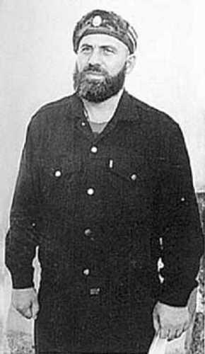 Чеченский полевой командир Хизир Мусаевич Хачукаев