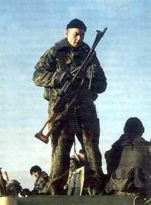 Первая чеченская война. Морская пехота в Грозном