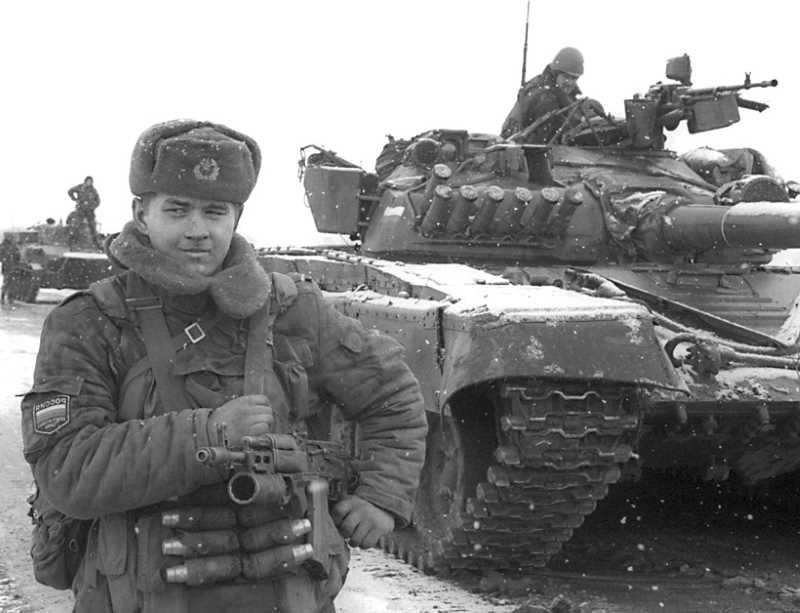24 годовщина ввода войск в Чечню